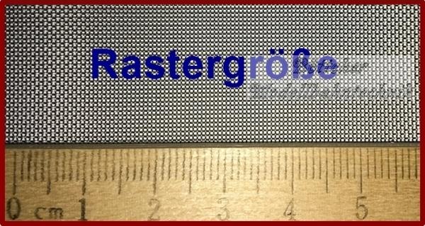Böttcher Modellbahntechnik - Drahtgewebe 2cm x 60cm, extra fein ...